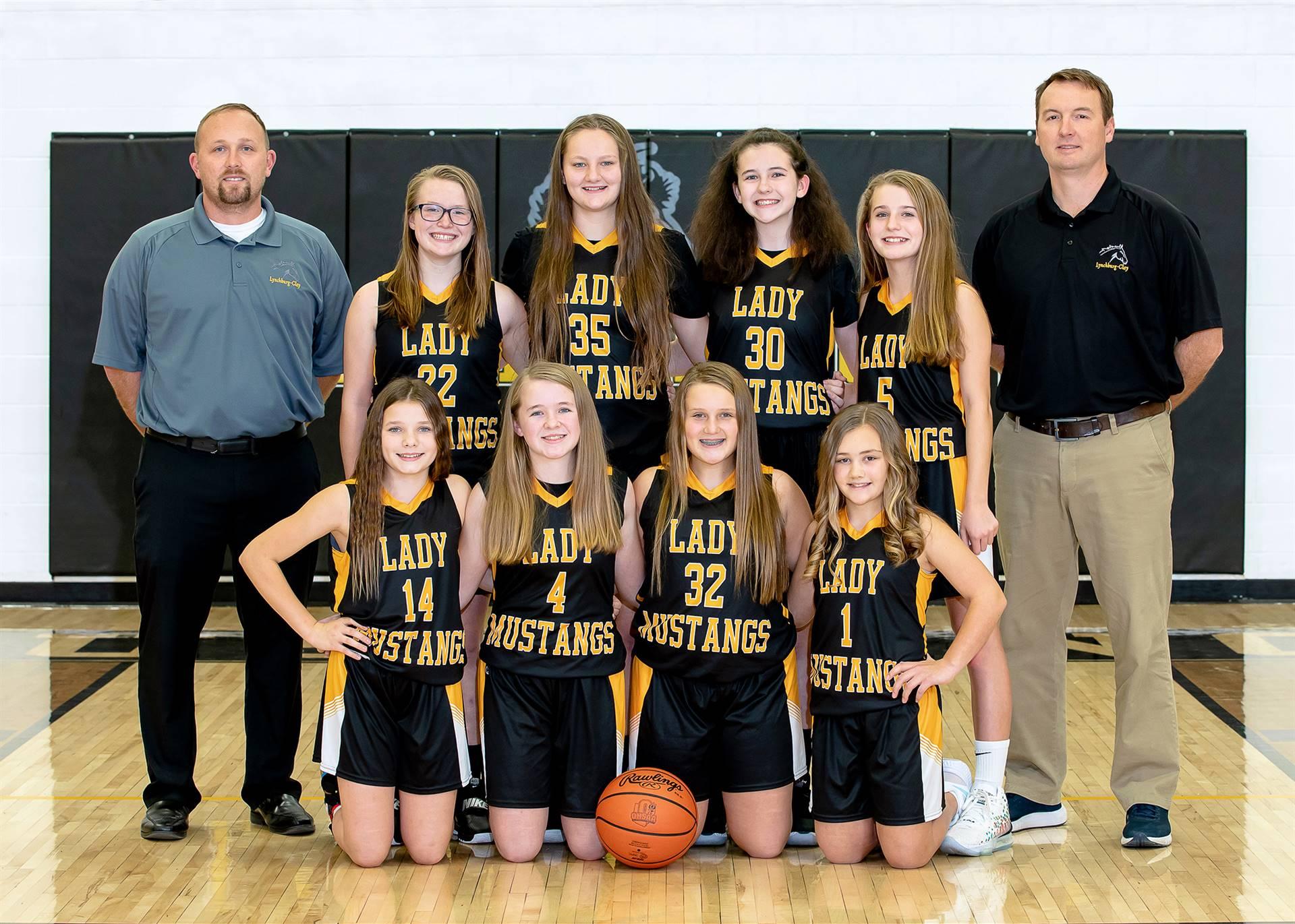 20-21 7th Grade Girls Basketball