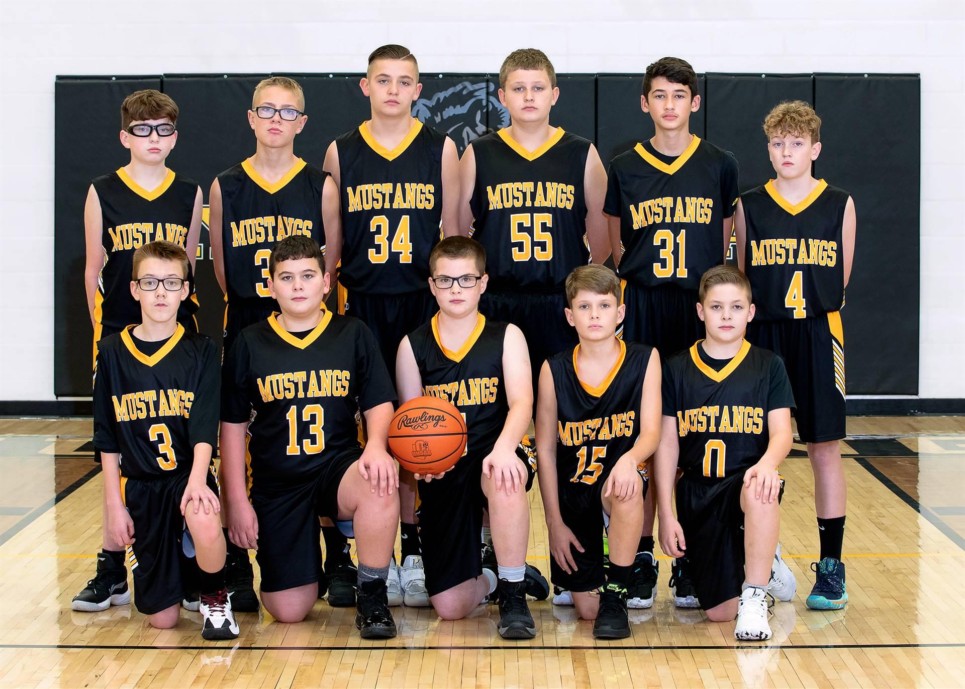 20-21 7th Grade Boys Basketball